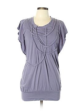Pink Lotus Short Sleeve Top Size L