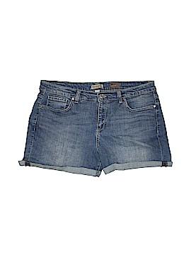 Nine West Vintage America Denim Shorts Size 16