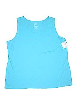 Just My Size Sleeveless T-Shirt Size 3X (Plus)