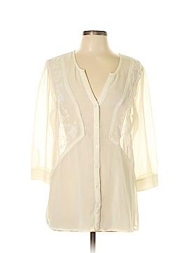 Ecote 3/4 Sleeve Blouse Size L