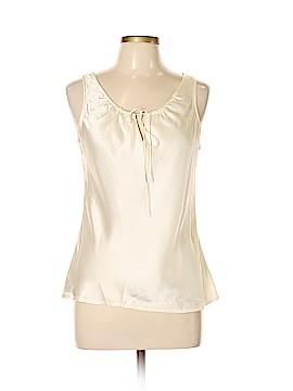 Isaac Mizrahi for Target Sleeveless Silk Top Size L