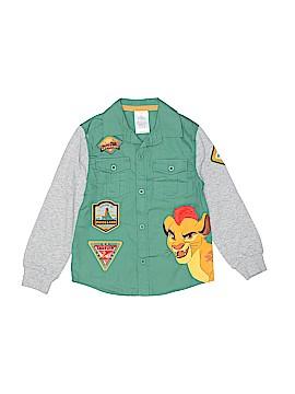 Disney Store Long Sleeve Button-Down Shirt Size 4