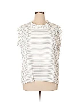 Cabiria Short Sleeve Blouse Size XL
