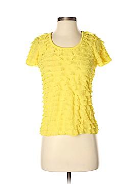 Slinky Brand Short Sleeve Blouse Size XS