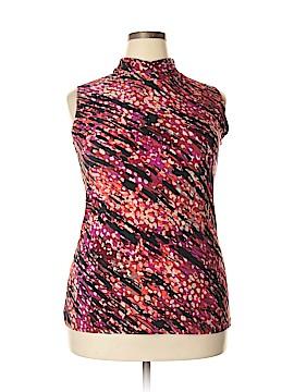 Fashion Bug Sleeveless Top Size 0X (Plus)