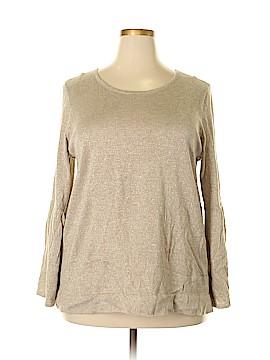 Calvin Klein Cashmere Pullover Sweater Size 1X (Plus)