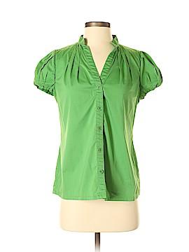 Banana Republic Short Sleeve Button-Down Shirt Size 6
