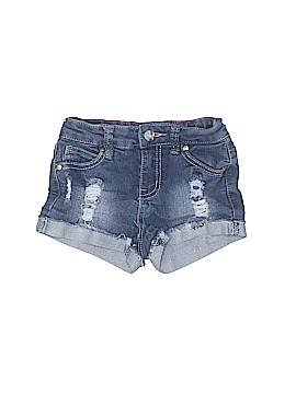 Pink Latte Denim Shorts Size 6X