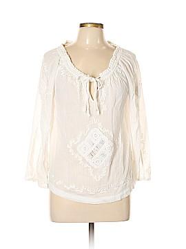 Elena Solano Long Sleeve Blouse Size L