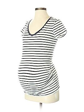 Bump Start by Motherhood Maternity Short Sleeve T-Shirt Size S (Maternity)