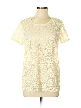 Stylus Short Sleeve Blouse Size L