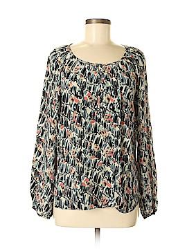Sanctuary Long Sleeve Silk Top Size M