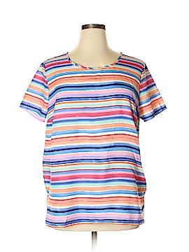 Faded Glory Short Sleeve Blouse Size XL