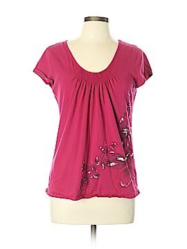 New York & Company Short Sleeve T-Shirt Size L