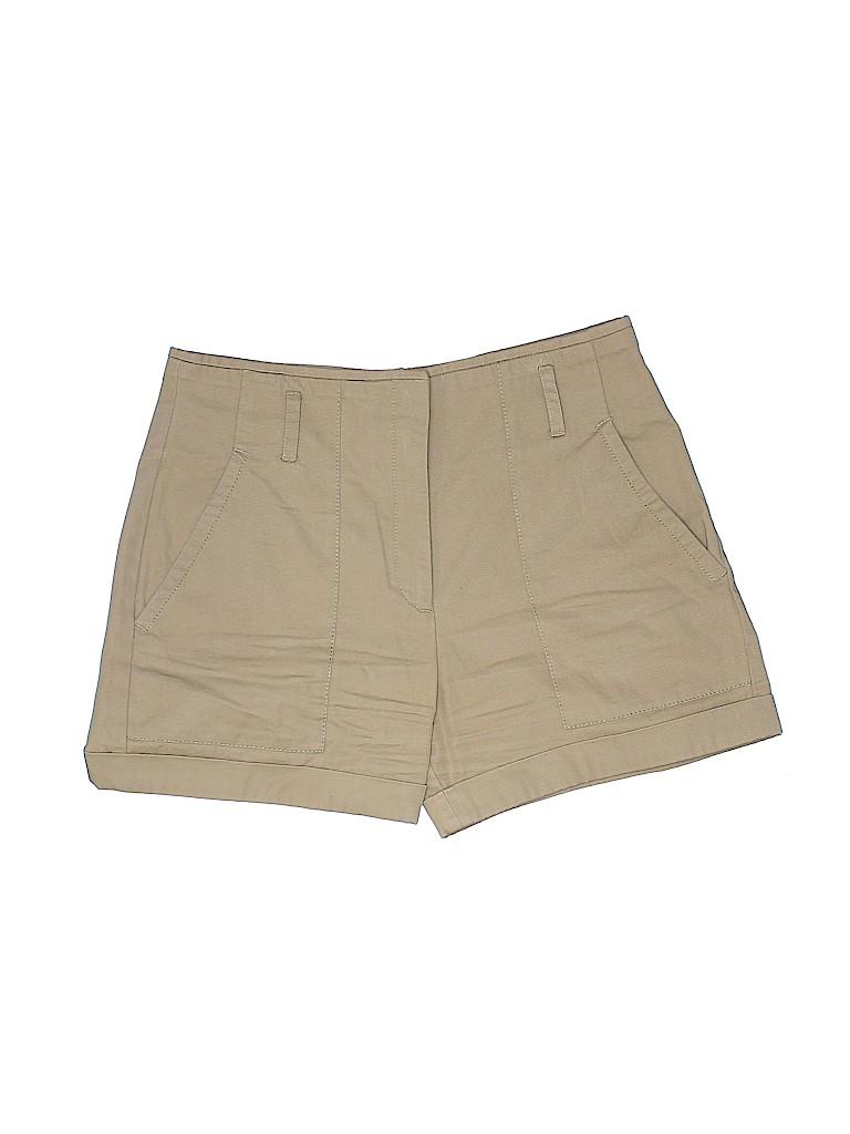 Sandro Women Khaki Shorts Size 38 (FR)