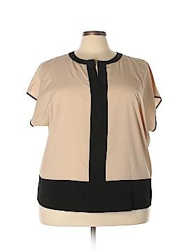 Vince Camuto Short Sleeve Blouse Size 2X (Plus)