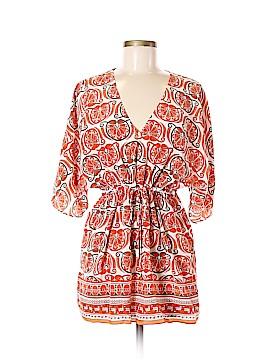 MICHAEL Michael Kors Short Sleeve Silk Top Size M