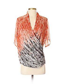 Nic + Zoe Short Sleeve Blouse Size S