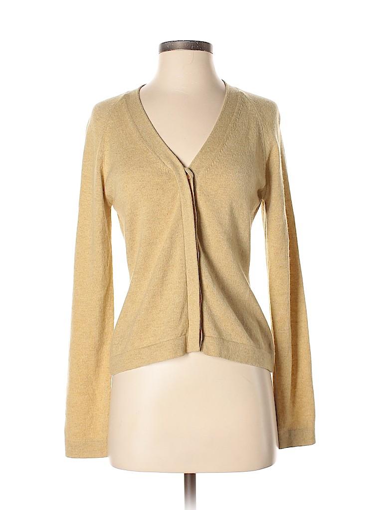 Calvin Klein Collection Women Wool Cardigan Size XS