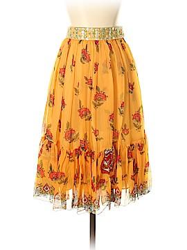 Blugirl Blumarine Silk Skirt Size 40 (IT)