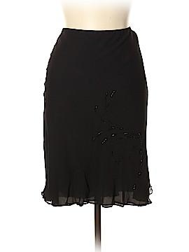 Robbie Bee Silk Skirt Size 12 (Petite)