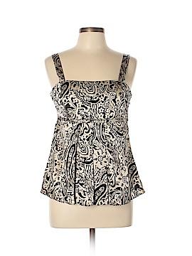INC International Concepts Sleeveless Silk Top Size 12