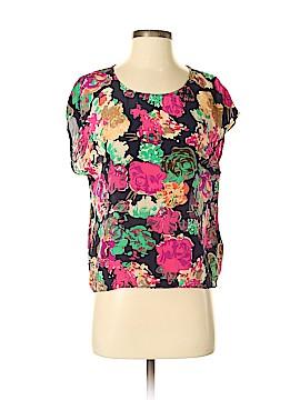 Maeve Short Sleeve Silk Top Size 2