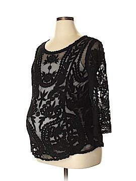 H&M Mama 3/4 Sleeve Blouse Size XL (Maternity)