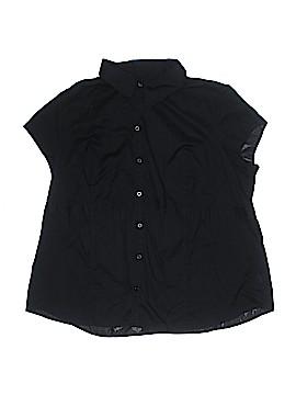 Merona Short Sleeve Button-Down Shirt Size 26 (Plus)
