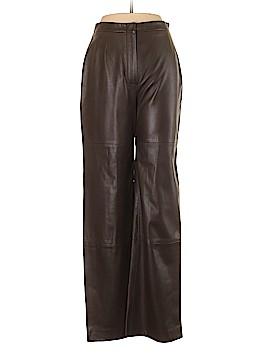 Max Mara Leather Pants Size 8