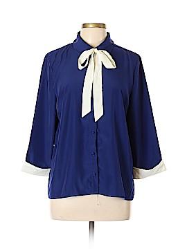 Myrtlewood 3/4 Sleeve Blouse Size XL