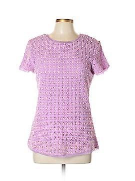 Antik Batik Short Sleeve Blouse Size L