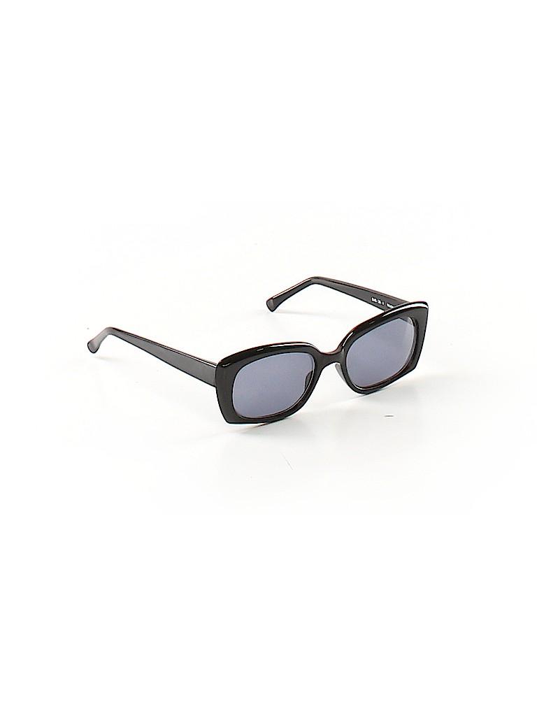 3f0ed3ad8e Ellen Tracy Solid Black Sunglasses One Size - 61% off
