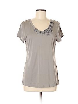 Garnet Hill Short Sleeve Top Size M
