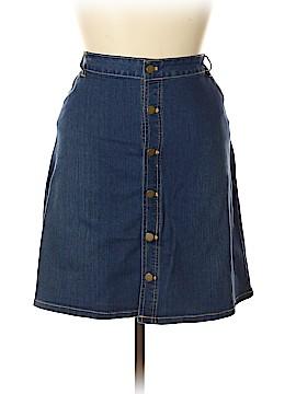 Croft & Barrow Denim Skirt Size 20 (Plus)