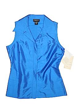 Finity Sleeveless Silk Top Size 10