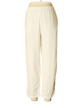 Susan Graver Linen Pants Size L