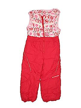 Columbia Snow Pants With Bib Size 4T