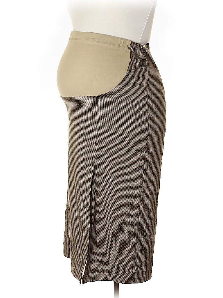 Duo Maternity Women Casual Skirt Size L (Maternity)