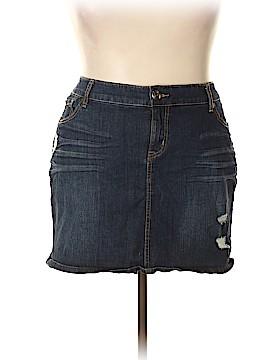 Torrid Denim Skirt Size 22 (Plus)