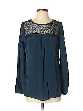 Shoshanna Long Sleeve Silk Top Size 2
