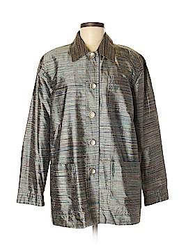 Clothes (real) Saks Fifth Avenue Silk Blazer Size M