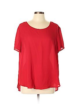 GNW Short Sleeve Blouse Size XL