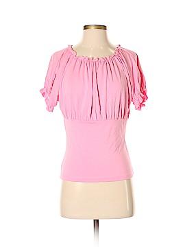 Jennifer Reale Design Short Sleeve Top Size S