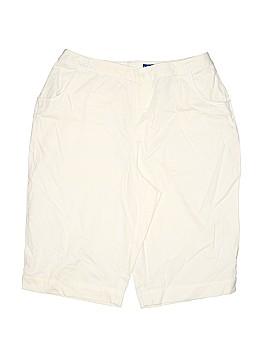Karen Scott Sport Khaki Shorts Size 14