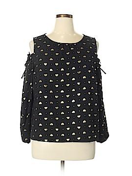 Lauren Conrad Long Sleeve Blouse Size XL