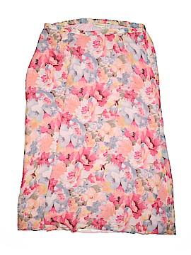 Valerie Stevens Silk Skirt Size XL