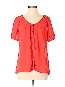 Sis Sis Short Sleeve Blouse Size L