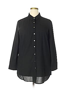 Marla Wynne 3/4 Sleeve Blouse Size 1X (Plus)