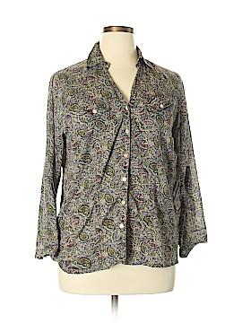 Love Potion Long Sleeve Button-Down Shirt Size XL